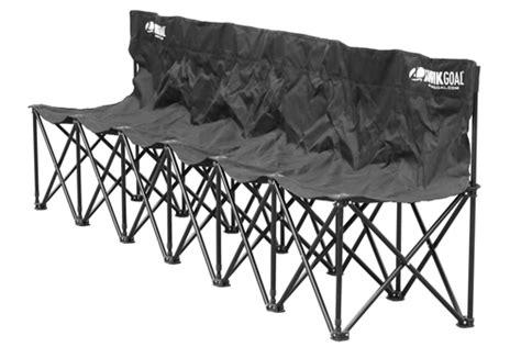 6 seat soccer bench kwik goal 6 seat kwik bench soccer bench