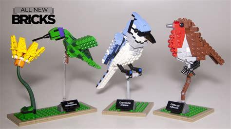 Bricks Sy 580 lego ideas 21301 birds speed build review
