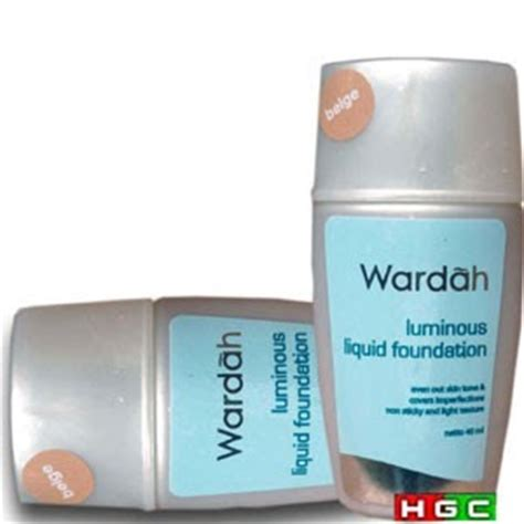 Wardah Foundation Luminous wardah kosmetik 0852 8273 1919 wardah luminous liquid foundation