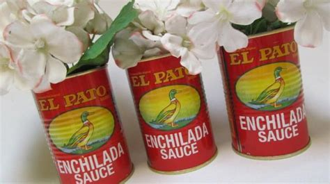 Fiesta Decorations El Pato Mexican Tin Cans Set Of 3