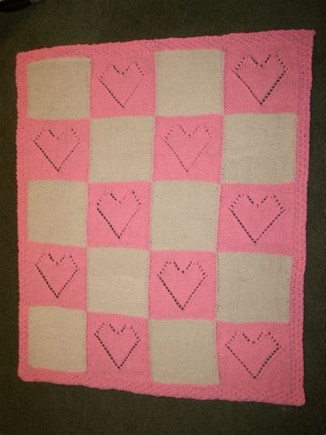 pattern colours in casting baby love blanket two free pattern materials 100g 5 5 oz