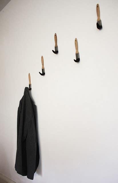 cool coat hooks cool coat hook idea with paint brushes random paint