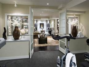 Home Exercise Room Design Layout Basement Layouts And Plans Hgtv