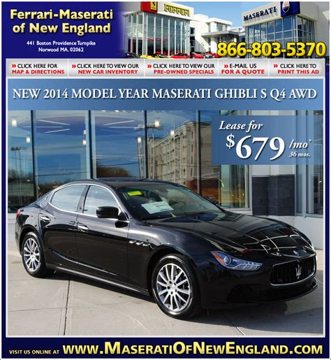 Boch Maserati by Boch Maserati On The Automile In Norwood Ma