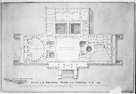 us senate floor plan united states capitol washington d c principle floor plan vestibule house of