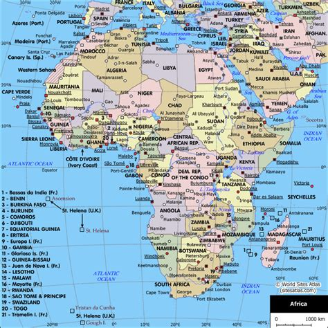 africa map with cities map of cities in africa africa planetolog