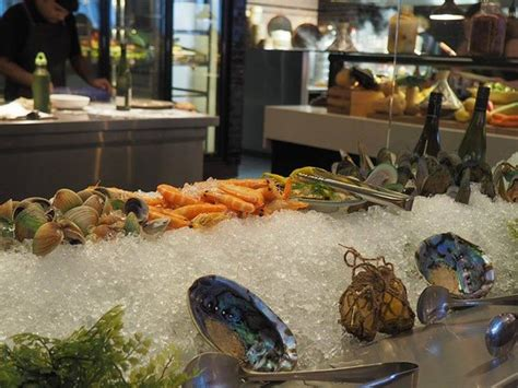 seafood section seafood section picture of bazaar queenstown tripadvisor