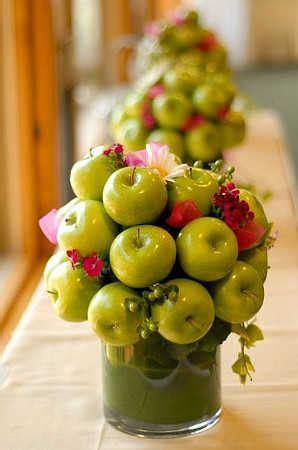 como decorar jarrones de vidrio con frutas decoraci 243 n con frutas para fiestas hazlo tu mismo taringa