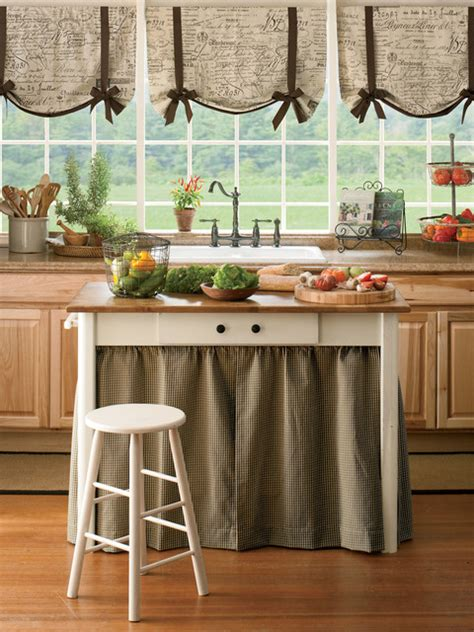 farmhouse kitchen curtains parisian note tie up valance farmhouse valances