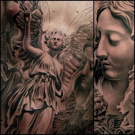 jun cha angel tattoo angel tattoo amazing artwork by jun cha pinterest