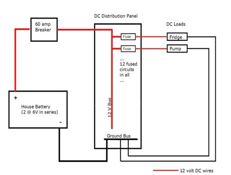 12 volt distribution panel wiring diagrams wiring diagrams