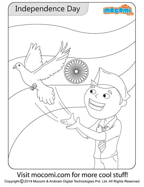 Indian Independence Day Coloring Pages by Independence Day Colouring Page Colouring Pages For