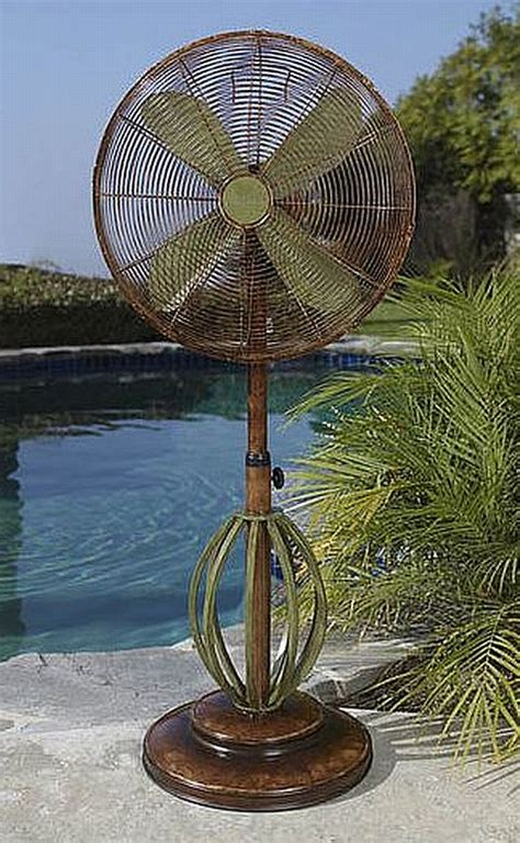 deco outdoor fan outdoor ceiling standing fans misting fan