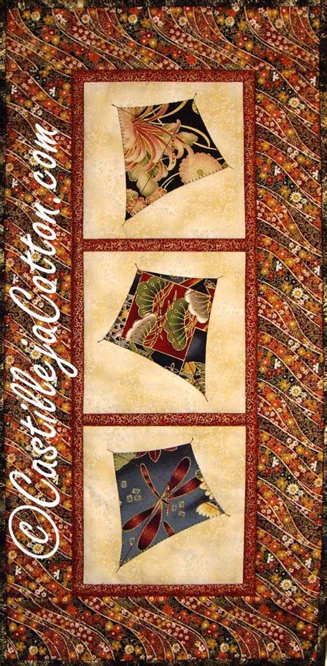 Quilted Wall by Kite Quilted Wall Hanging Swirling Kits Quilt