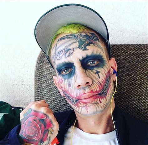 joker tattoo real guy claims to the real joker trashy