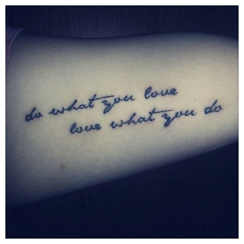 cute arm quotes tattoo tattoomagz inner arm tattoo love this saying cute tattoos