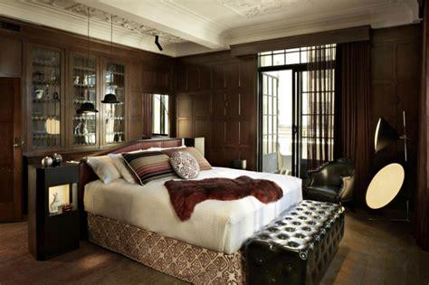 schlafzimmer in braunt nen 60 252 berzeugende beispiele f 252 r wanddesign in braun