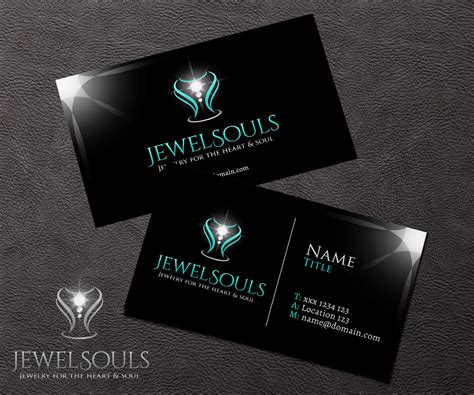 Jewelry Store Business Card Designs