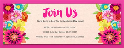 brunch lunch party invitations evite