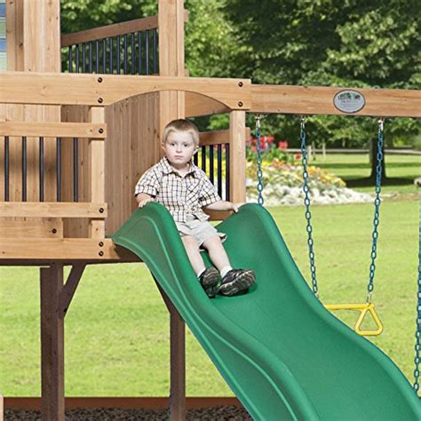 swings for older kids backyard playsets for older kids climbers and slides