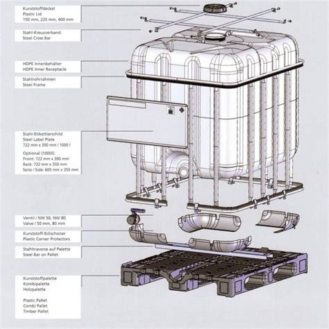 Fitting Valve Ibc Tank Kemputoren 1000 Ltr Pipa 12 1000 litre new ibc with plastic pallet un approved bottle buy from kingfisher