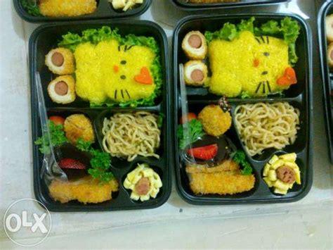 Nasi Bento Hello dw catering kediri 081217941016 catering rumahan