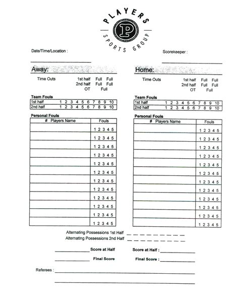 corn hiolescore card template basketball score sheet pdf basketball score sheet pdf