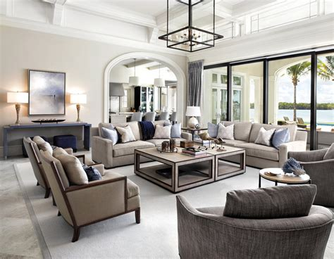 Houzz Living Room Shades 50 Shades Of Luxury Transitional Living Room