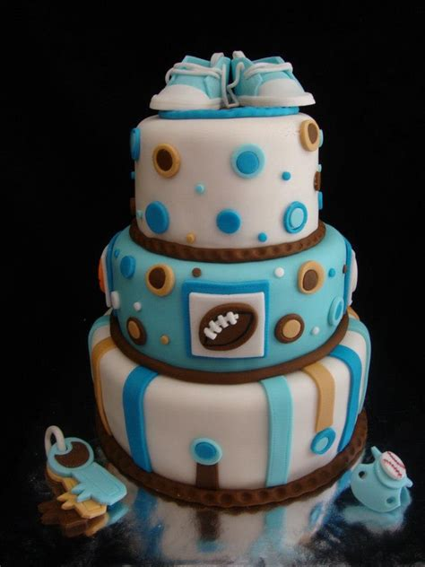 Sports Baby Shower Cakes by Sports Baby Shower Cake Idea Baking