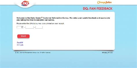 dq fan feedback survey dq survey the guide to earning a coupon by answering