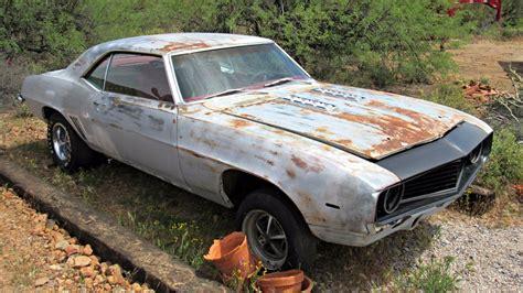 69 camaro ss 396 for sale desert find 1969 chevrolet camaro ss 396