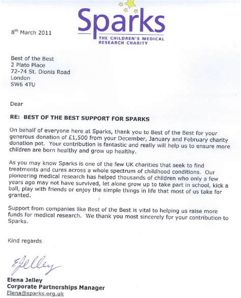 charity appeal letters exles best photos of charity donation letter exle