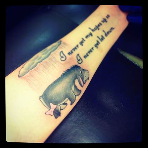 eeyore tattoos designs eeyore depression quotes quotesgram