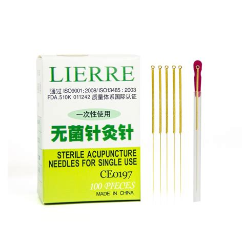 needles canada lierre golden acupuncture needles from lierre canada
