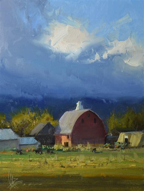 josh clare paints the rural landscape muse productions
