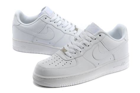 Nike Air 1 Low Leather All White 315122 111 nike air 1 one 07 mens low leather