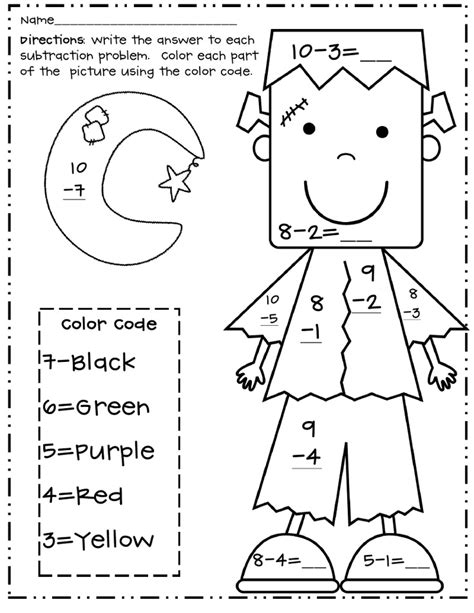 halloween coloring pages math halloween activity worksheets festival collections