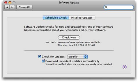 how to update macbook pro software how can i check what system updates i ve installed on my