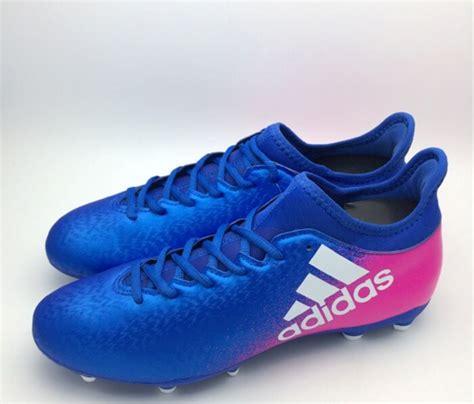 Harga Adidas X 16 3 jual sepatu bola adidas original x 16 3 fg blue shock pink