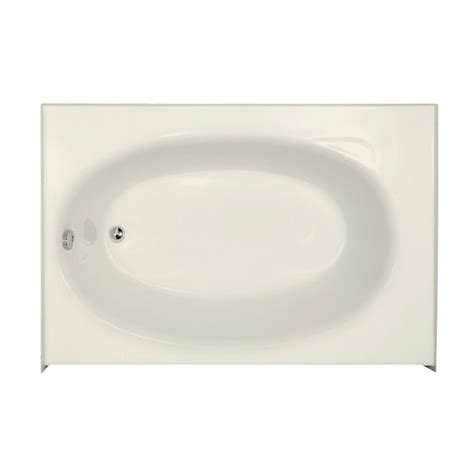 kona bathtub hydro systems kona 5 ft left drain bathtub in biscuit