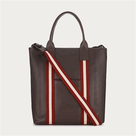 Wallet Bally Mocca Kode 08 bally tacilo s leather tote in chocolate in brown for