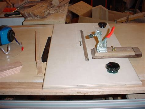 shop made woodworking jigs pin woodworking jigs the box joint jig a shop made on