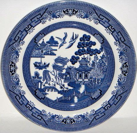 Willow Pattern Meaning | churchill blue willow china blue willow johnson bros