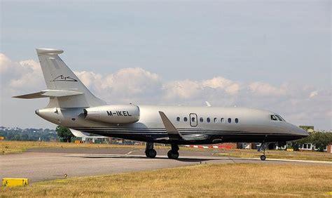 michael schumachers private jet   grabs