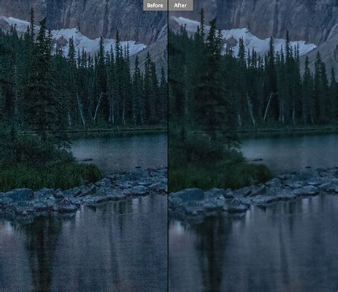 Landscape Photos Grainy How To Avoid And Reduce Noise In Your Images