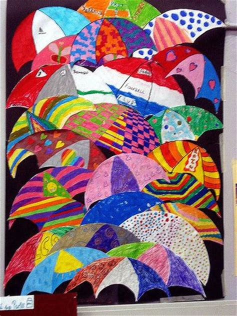 craft projects for 10 year olds umbrellas by renoir created by 10 year olds 187 classroom