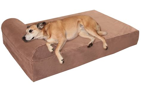 oversized dog bed best orthopedic dog beds for large dogs herepup