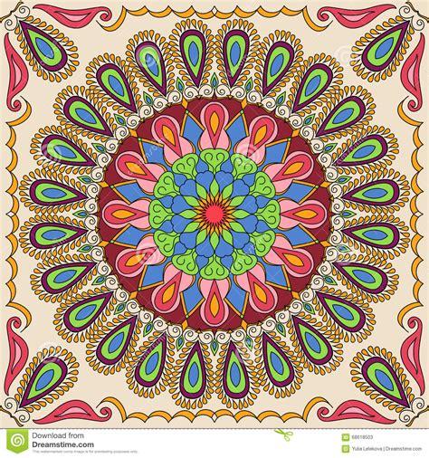 mandala coloring book tips vector square mandala pattern as exle for coloring book
