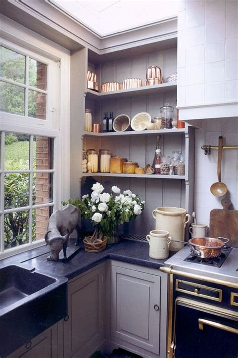 Decorating Ideas For Kitchen Corners Corner Kitchen Shelves Delectable Window Exterior Or Other