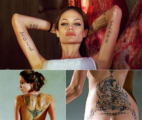 angelina jolie h tattoo hot wallpaper angelina jolie tattoos